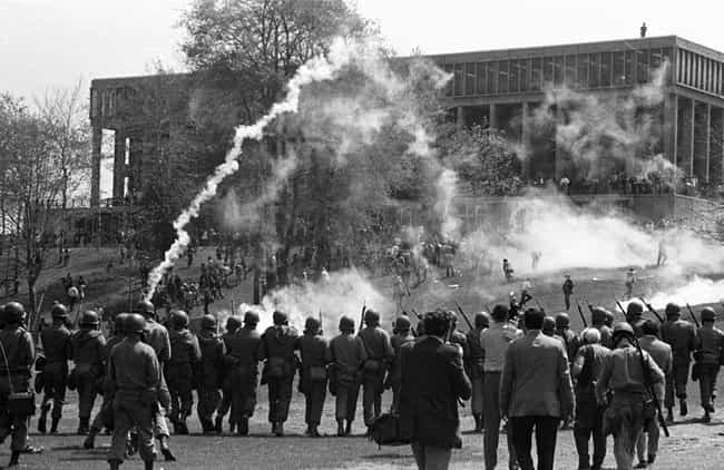 The Average Distance Between T... is listed (or ranked) 2 on the list Remembering The Kent State Shootings - When The National Guard Killed 4 Students