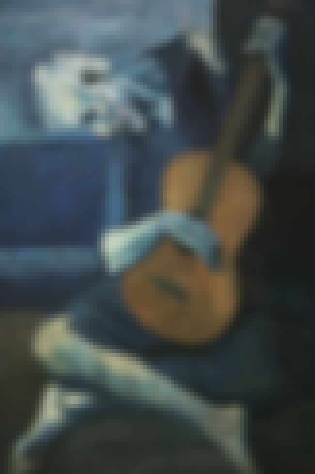 Picasso's The Old Guitaris... is listed (or ranked) 2 on the list Secrets Found By X-Raying Old Paintings