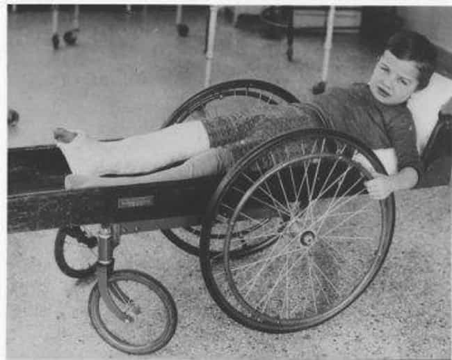 Boy In A Wheelchair, 191... is listed (or ranked) 3 on the list Medical Devices From The Early 1900s Were Absolutely Terrifying