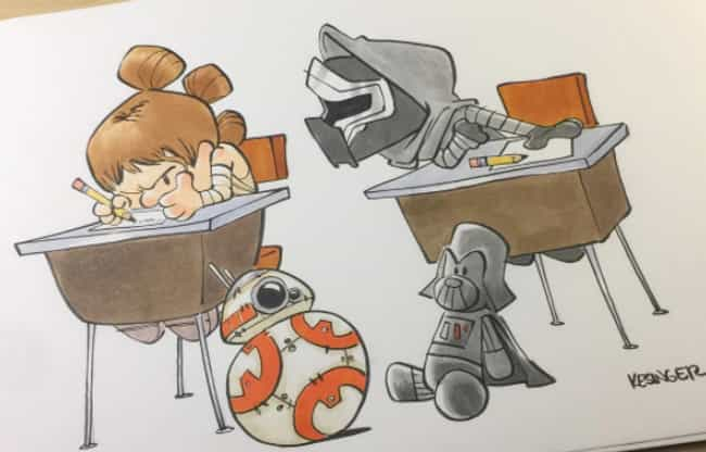This Guy Draws Star Wars Characters In Calvin And Hobbes