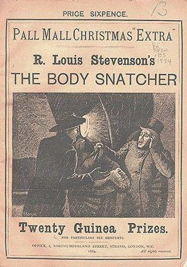 "Stevenson's ""The Bo... is listed (or ranked) 4 on the list Robert Louis Stevenson: Legendary Author, Gigantic Cocaine Addict"