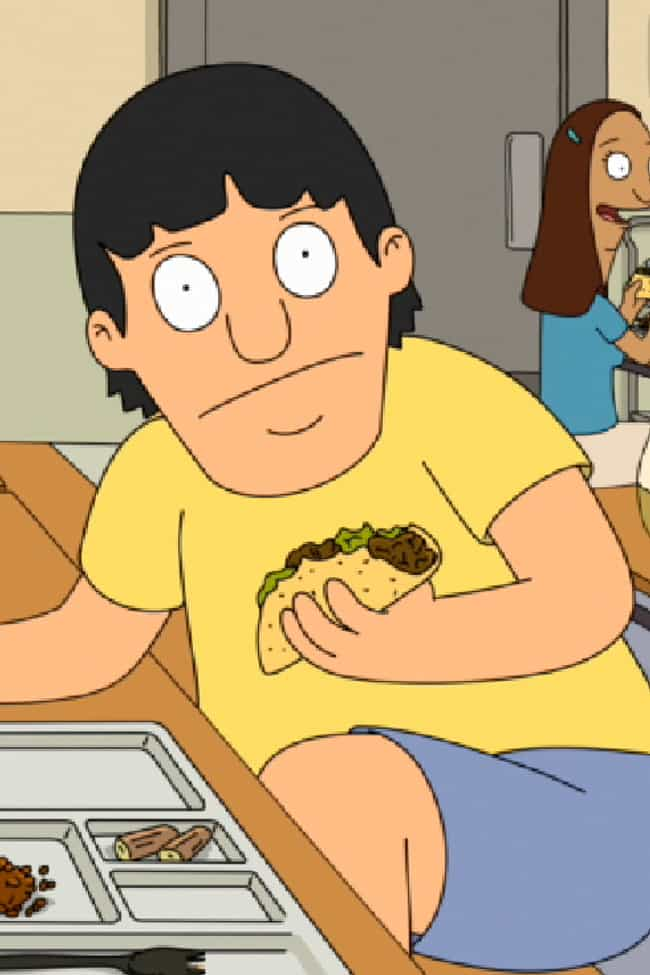 Gene Belcher Is Transgen... is listed (or ranked) 6 on the list 16 Bob's Burgers Fan Theories That Are Just Crazy Enough To Be True