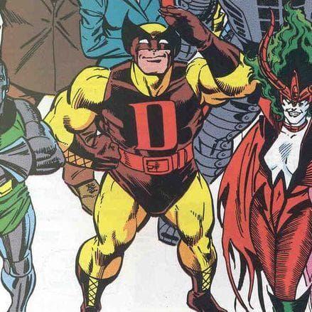 Image of Random Astounding Story Of D-Man: Marvel's Gay Wrasslin' Hero