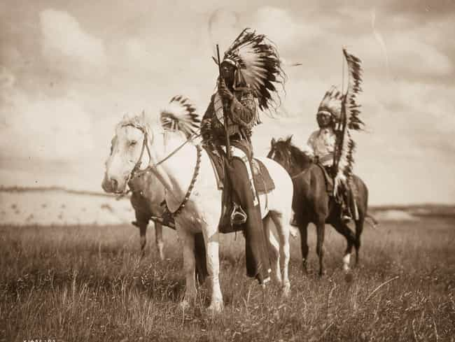 Sioux Chiefs is listed (or ranked) 4 on the list 27 Photos Of Native Americans From The Early 1900s