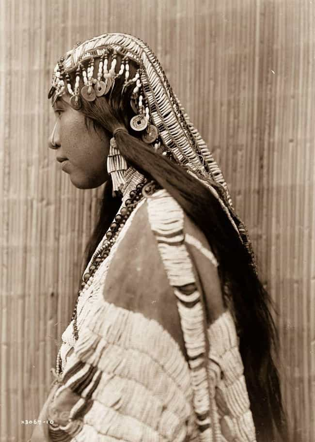 Young Wishran Girl is listed (or ranked) 2 on the list 27 Photos Of Native Americans From The Early 1900s
