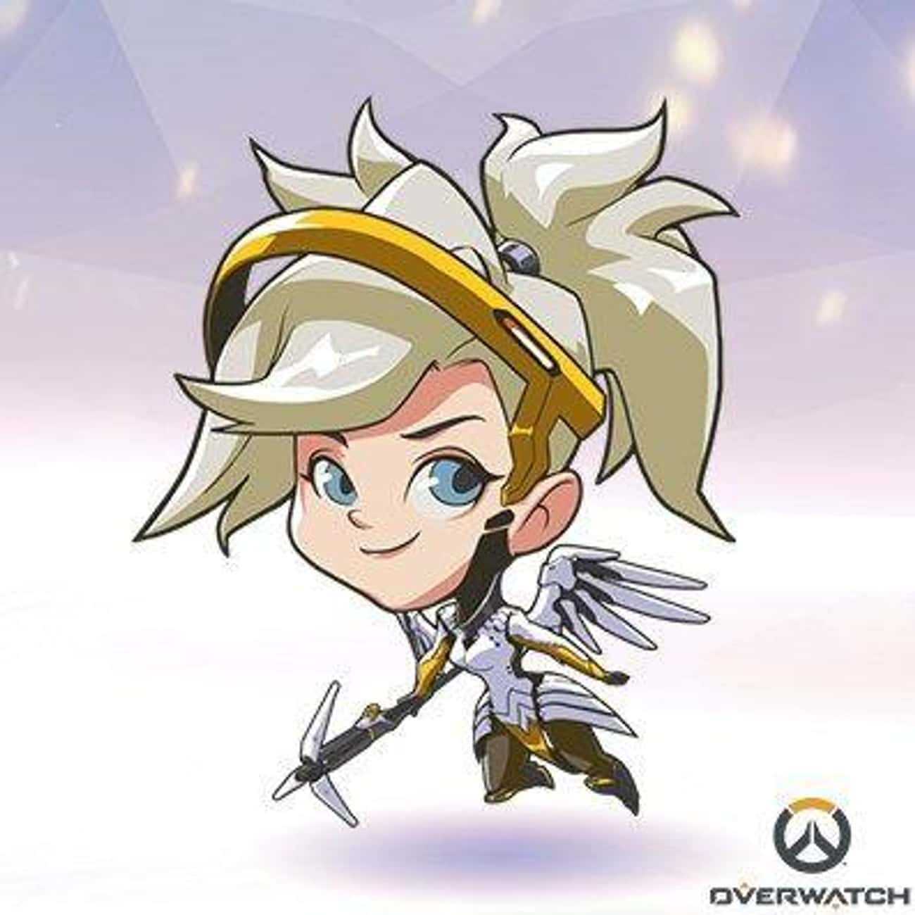 Mercy is listed (or ranked) 1 on the list Overwatch Heroines You'd Want to Have a Romantic Dinner With