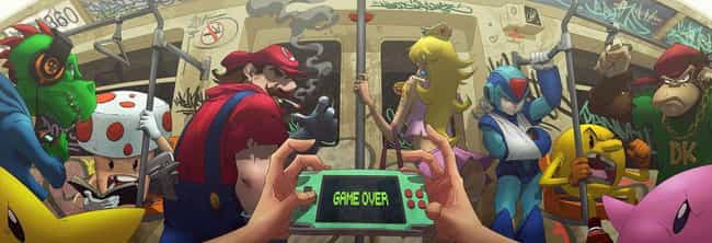 Game Over is listed (or ranked) 2 on the list This Amazing Artist Draws Classic Characters As You've Never Seen Them Before