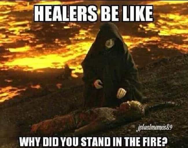 The Most Hilarious Healer Memes On The Internet