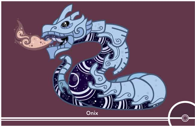 Onix is listed (or ranked) 3 on the list This Artist Is Redesigning The Entire Pokedex, One Pokemon At A Time