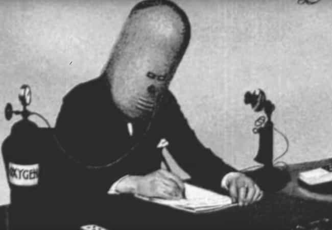 Having Trouble Concentra... is listed (or ranked) 1 on the list 'The Isolator' Was A Terrifying Helmet Invented To Help You Concentrate
