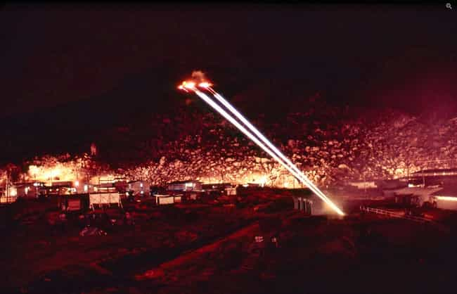 To Light Up The Sky Like... is listed (or ranked) 3 on the list A Barrage In The Night Against A Lone Viet Cong Combatant