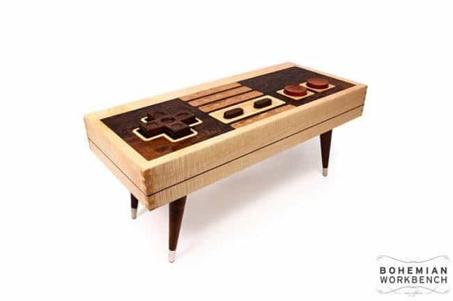8-Bit Retro Gaming Table... is listed (or ranked) 1 on the list Great Gifts For Gamer Dads
