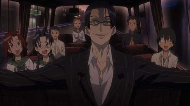 Koichi Shido From High S... is listed (or ranked) 1 on the list 13 Horrible Anime Teachers Who Would Be Fired IRL