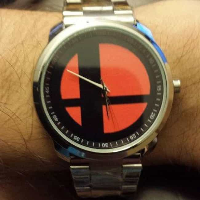 Super Smash Bros Watch ... is listed (or ranked) 2 on the list Subtle Nintendo Merchandise For The Classy Geek In All Of Us