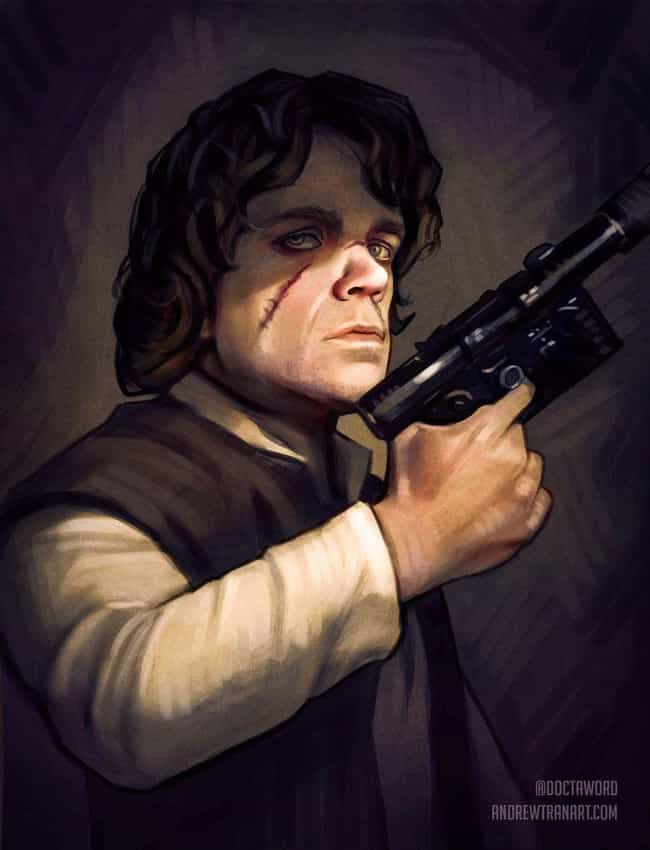 Tyrion Lannister, The Im... is listed (or ranked) 4 on the list An Incredible Artist Created Throne Wars: Game Of Thrones Meets Star Wars