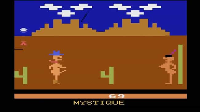 The Goal Of Custer's Revenge I... is listed (or ranked) 2 on the list Most Controversial Video Games That Have Ever Been Released