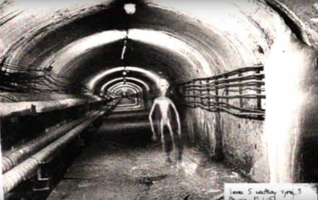 Dulce Base is listed (or ranked) 4 on the list Eerie, Infamous Photos Purported To Show Real Aliens