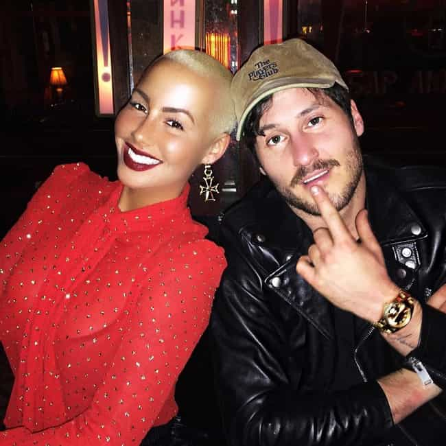 Val Chmerkovskiy is listed (or ranked) 3 on the list Amber Rose Loves and