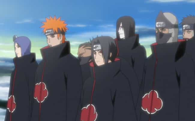 Akatsuki - Naruto is listed (or ranked) 1 on the list The 13 Greatest Evil Anime Organizations Of All Time