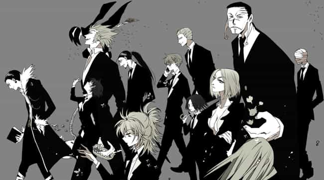 The Phantom Troupe - Hunter X ... is listed (or ranked) 2 on the list The 13 Greatest Evil Anime Organizations Of All Time