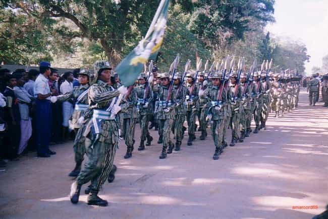 Women Had Their Own Units in L... is listed (or ranked) 3 on the list Facts About The Liberation Tigers Of Tamil Eelam And The Sri Lankan Civil War