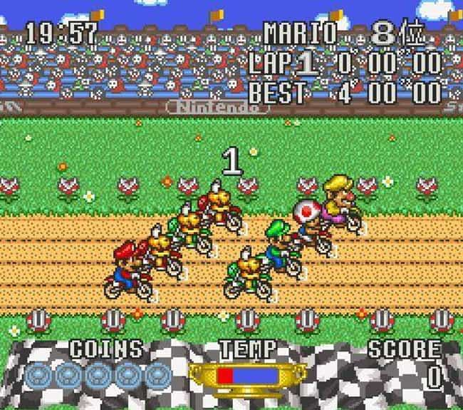 Excitebike: Vroom! Vroom! Mari... is listed (or ranked) 2 on the list 15 Fascinating Nintendo Games That Never Made It To The US