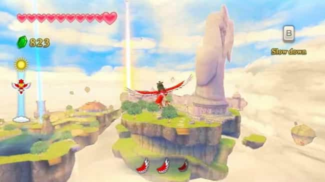 1) Skyward Sword is listed (or ranked) 1 on the list A Timeline Of The Convoluted Legend Of Zelda Chronology