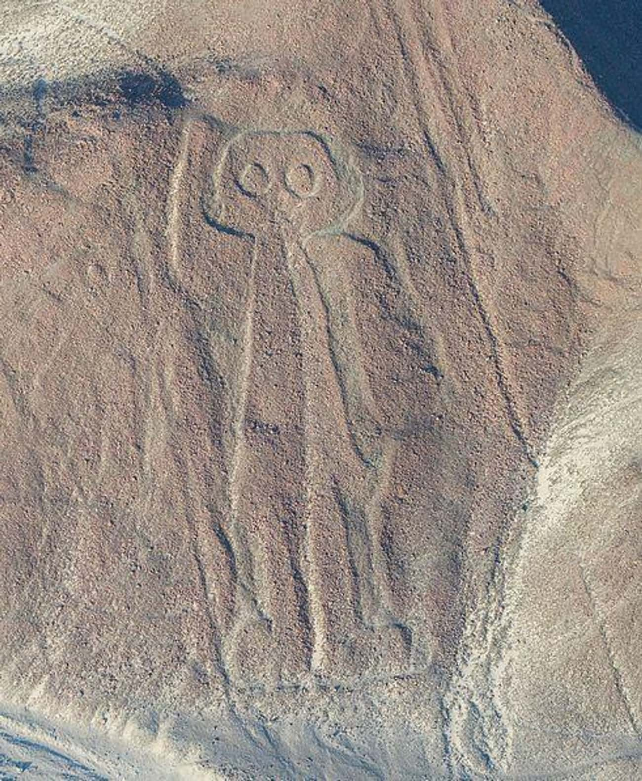 The Geoglyphs Of Nazca Were Cr is listed (or ranked) 3 on the list 16 Times 'Ancient Aliens' Made (Reasonably) Compelling Points