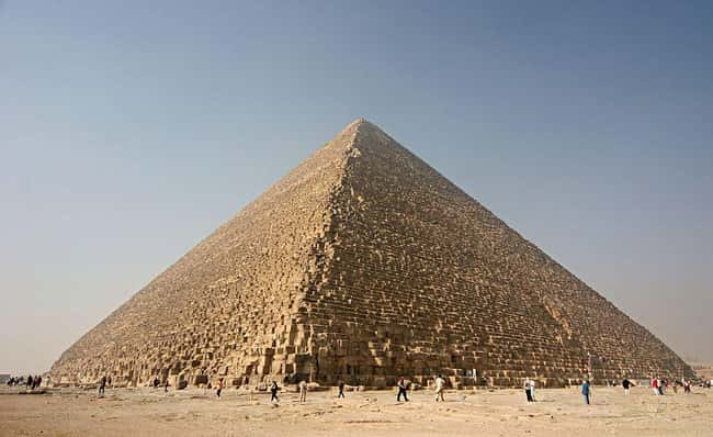 The Great Pyramids Of Giza Wer is listed (or ranked) 12 on the list Ancient Aliens May Have Found Actual Proof Of Extraterrestrial Life