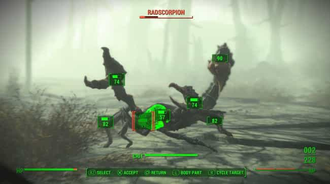 The V.A.T.S. System Is Super F... is listed (or ranked) 2 on the list 13 Reasons Why The Fallout Franchise Is Better Than Elder Scrolls