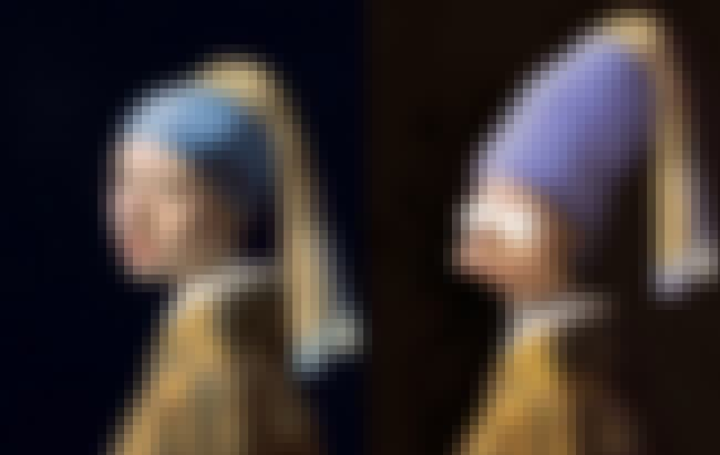 Girl With A Pearl Earring is listed (or ranked) 4 on the list Brilliant Nerd Versions Of Historical Paintings