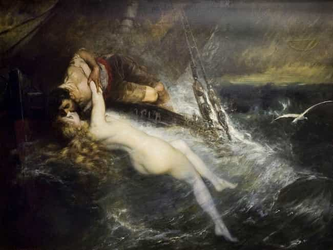 Beware The Siren Song Of... is listed (or ranked) 4 on the list Women In Myth Who Represent Man's Fear Of Women