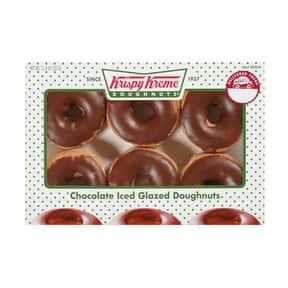 Chocolate Iced Glazed Krispy K is listed (or ranked) 2 on the list The Very Best Krispy Kreme Flavors