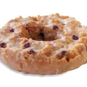 Glazed Blueberry Cake Krispy K is listed (or ranked) 13 on the list The Very Best Krispy Kreme Flavors