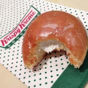 Glazed with Kreme Filling Kris is listed (or ranked) 8 on the list The Very Best Krispy Kreme Flavors