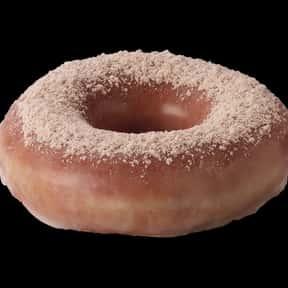 Glazed Cinnamon Krispy Kreme is listed (or ranked) 15 on the list The Very Best Krispy Kreme Flavors