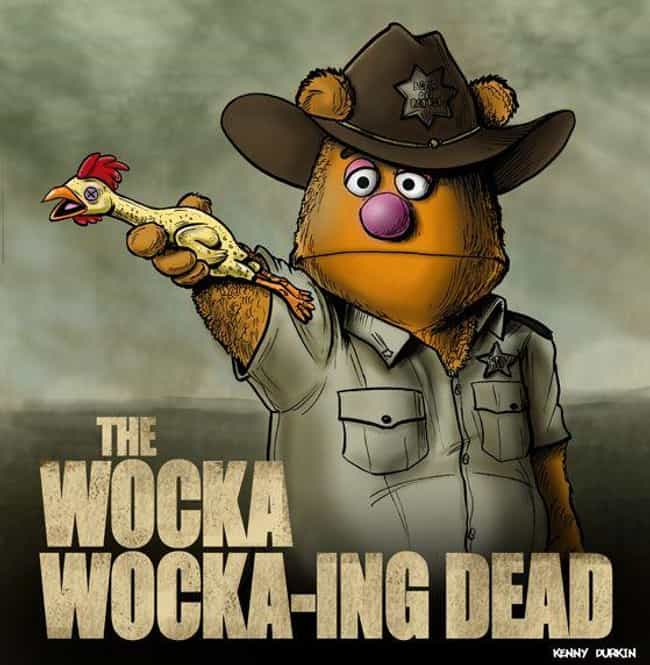 The Wocka Wocka-ing Dead... is listed (or ranked) 1 on the list This Muppets Mashup Art That's Just As Awesome As It Is Confusing