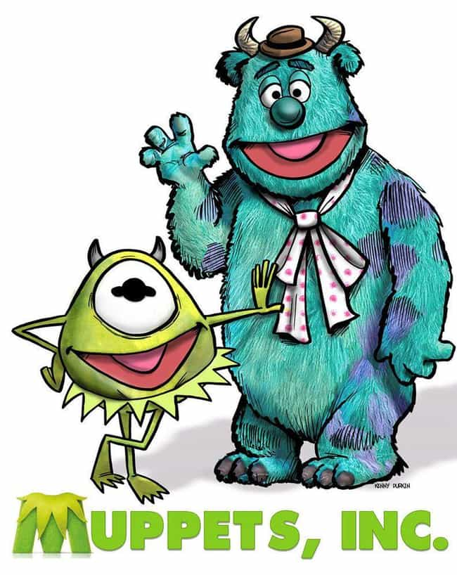 Muppets Inc. is listed (or ranked) 2 on the list This Muppets Mashup Art That's Just As Awesome As It Is Confusing