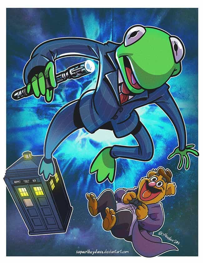 Doctor Muppet is listed (or ranked) 4 on the list This Muppets Mashup Art That's Just As Awesome As It Is Confusing