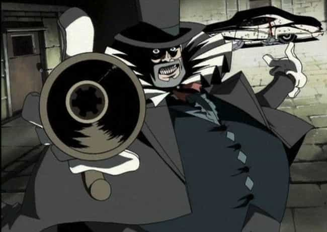 Mad Pierrot From Cowboy Bebop is listed (or ranked) 8 on the list The 18 Most Profoundly Unsettling Antagonists In Anime