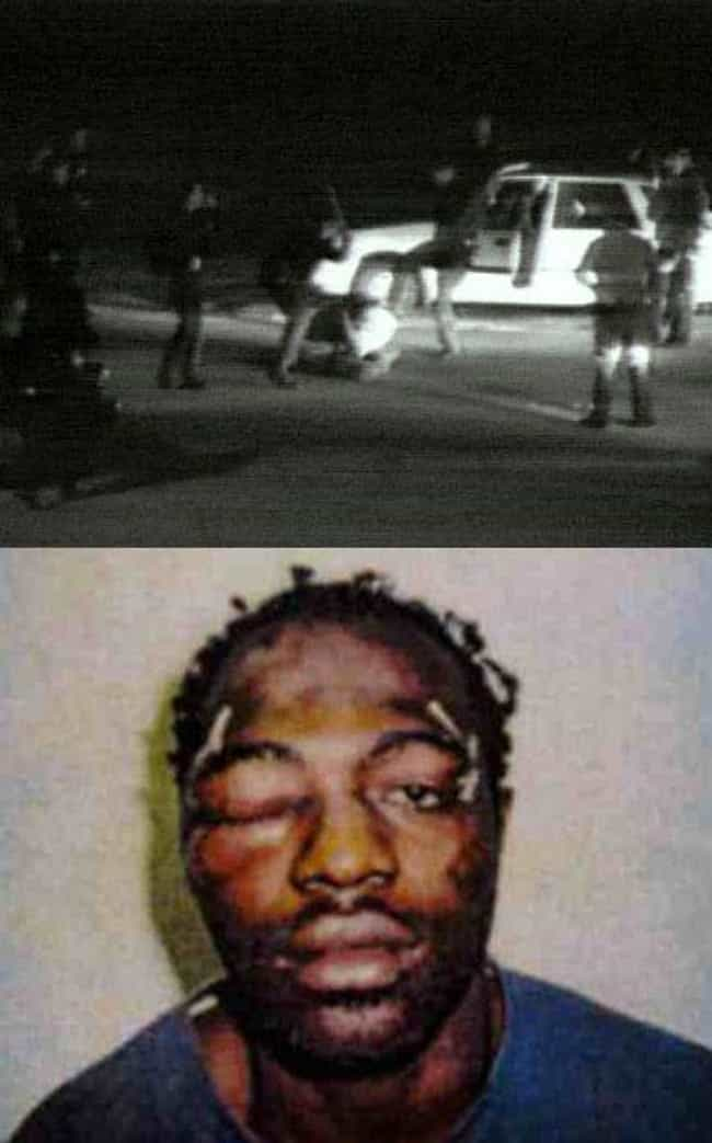 Rodney King Fled From Police B... is listed (or ranked) 1 on the list Revisiting The Rodney King Beating & L.A. Riots Proves Nothing Has Changed
