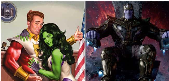 Starfox: Thanos' brother