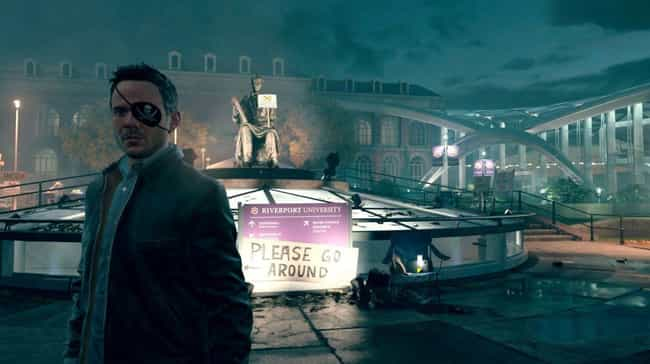 Quantum Break is listed (or ranked) 2 on the list 14 Games That Hilariously F*ck With People Who Pirate Them