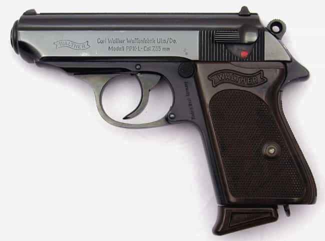 German Walther PP 7.65-m... is listed (or ranked) 1 on the list Real Nazi Relics You Can Visit Right Here in the USA If You're Into That Kind Of Thing