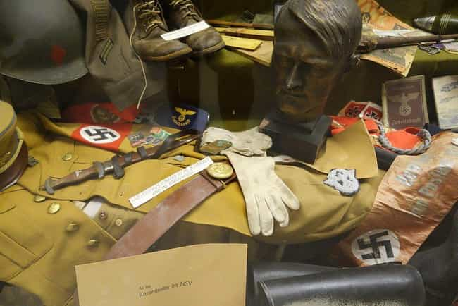 The Discovery Is The Lar... is listed (or ranked) 1 on the list A Massive Collection of Nazi Artifacts Was Just Discovered In Argentina