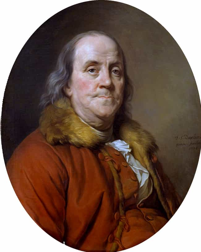 He Nearly Died From Cooking A ... is listed (or ranked) 2 on the list 19 Bizarre Facts About Benjamin Franklin, A Genius, A Founding Father, And A Delightful Weirdo
