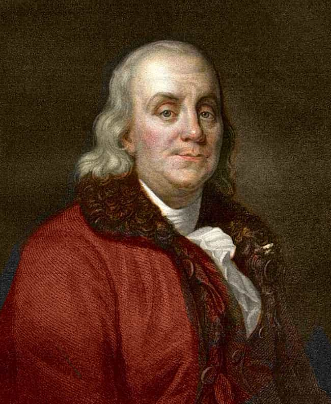 He Believed In Casual Sex is listed (or ranked) 4 on the list 19 Bizarre Facts About Benjamin Franklin, A Genius, A Founding Father, And A Delightful Weirdo