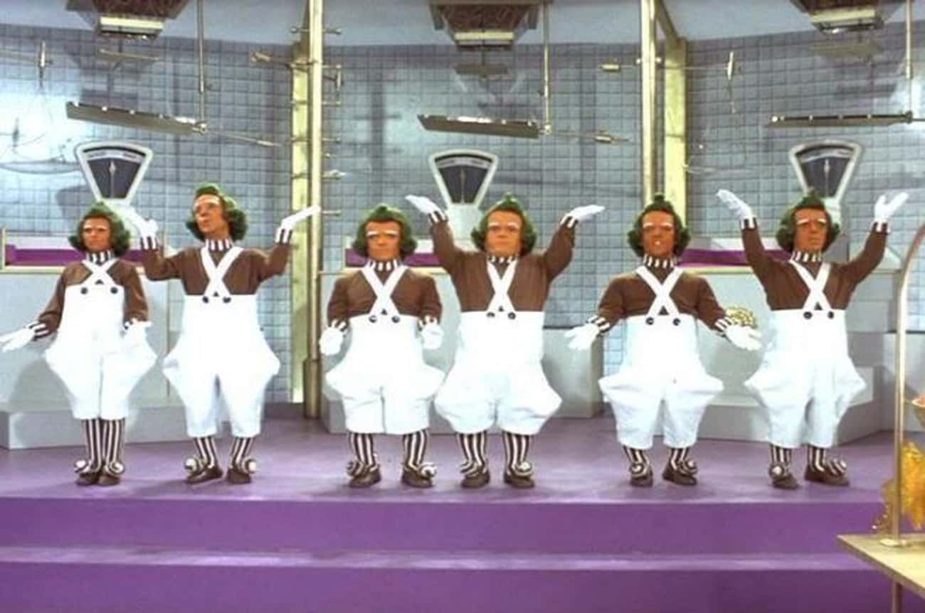 Oompa Loompas Are Orange Thank is listed (or ranked) 4 on the list Strange Stories From Behind The Scenes Of Willy Wonka And The Chocolate Factory