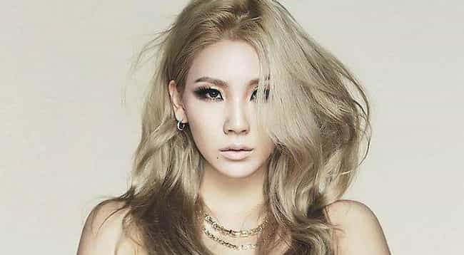CL is listed (or ranked) 1 on the list Vote: Who Is The Best 2NE1 Member?