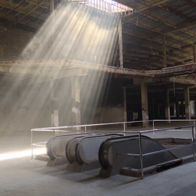 Going Down To The Depths... is listed (or ranked) 1 on the list Step Inside These Haunting Pictures Of Abandoned Malls Across America